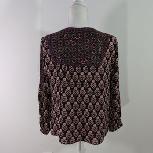 Style & Co Tops - Style & Co Purple Poet Top
